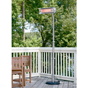 Infrared Heater, telescoping stand