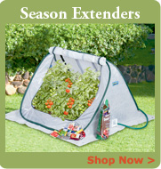 Season Extenders, Cold Frames and Mini Greenhouses