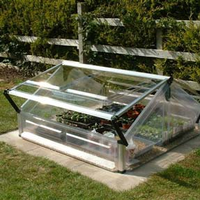 Poly-Tex Double Cold Frame Greenhouse