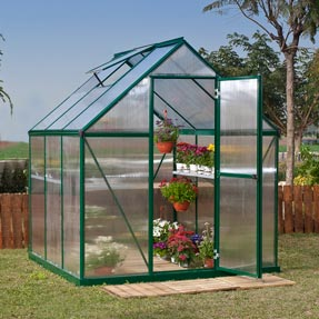 6' x 6' Mythos Greenhouse Kit