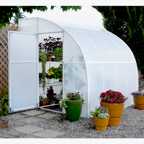 8 39 solexx harvester greenhouse for Lean to greenhouse plans free